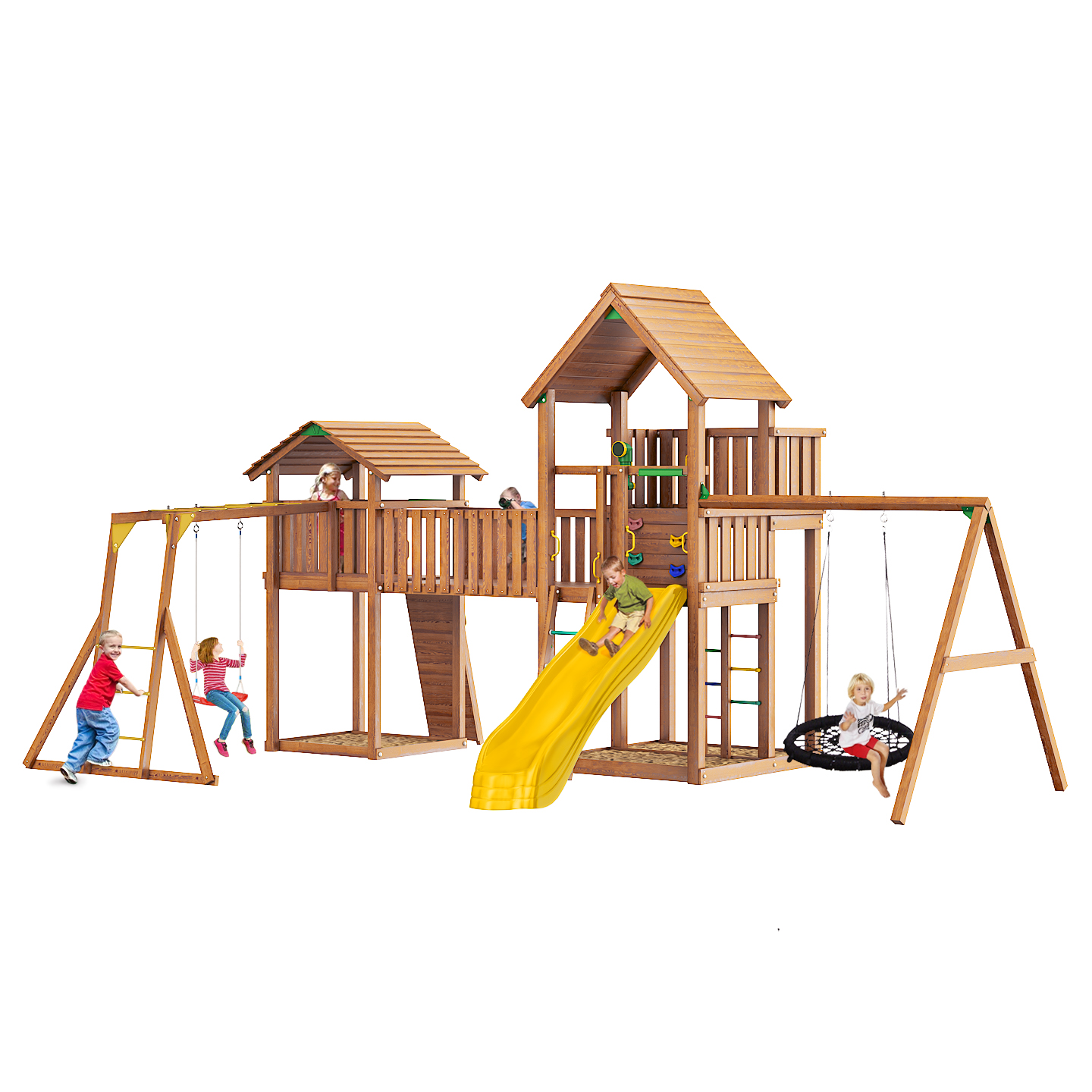 Комплекс Jungle Gym Palace + cottage JB11