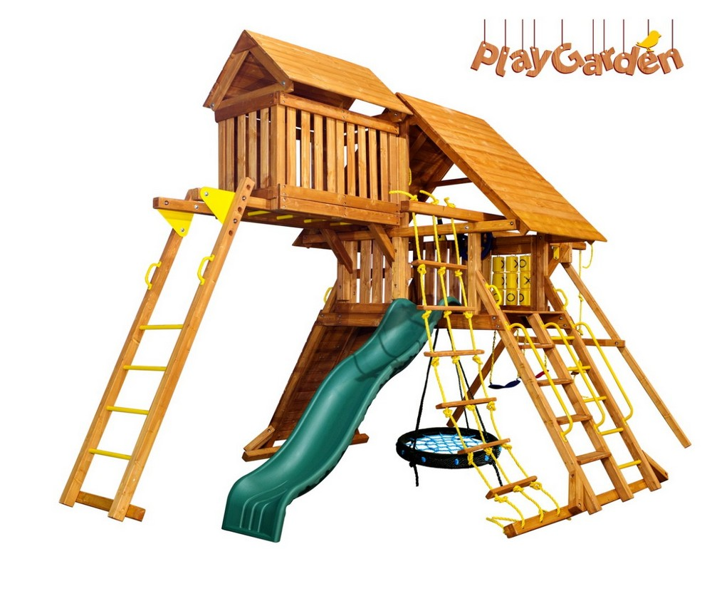 Playgarden Original Castle с пентхаусом